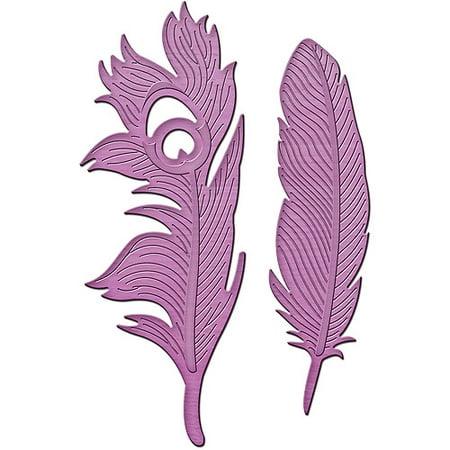 Spellbinders Shapeabilities Inspire Die  Feathers On The Wind