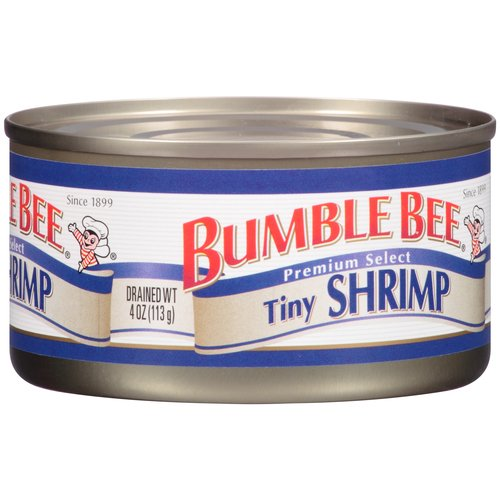 Bumble Bee Premium Select Tiny Shrimp, 4 oz