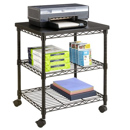 - Safco Products Company Mobile Printer Stand
