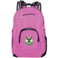 NBA Milwaukee Bucks Pink Premium Laptop Backpack