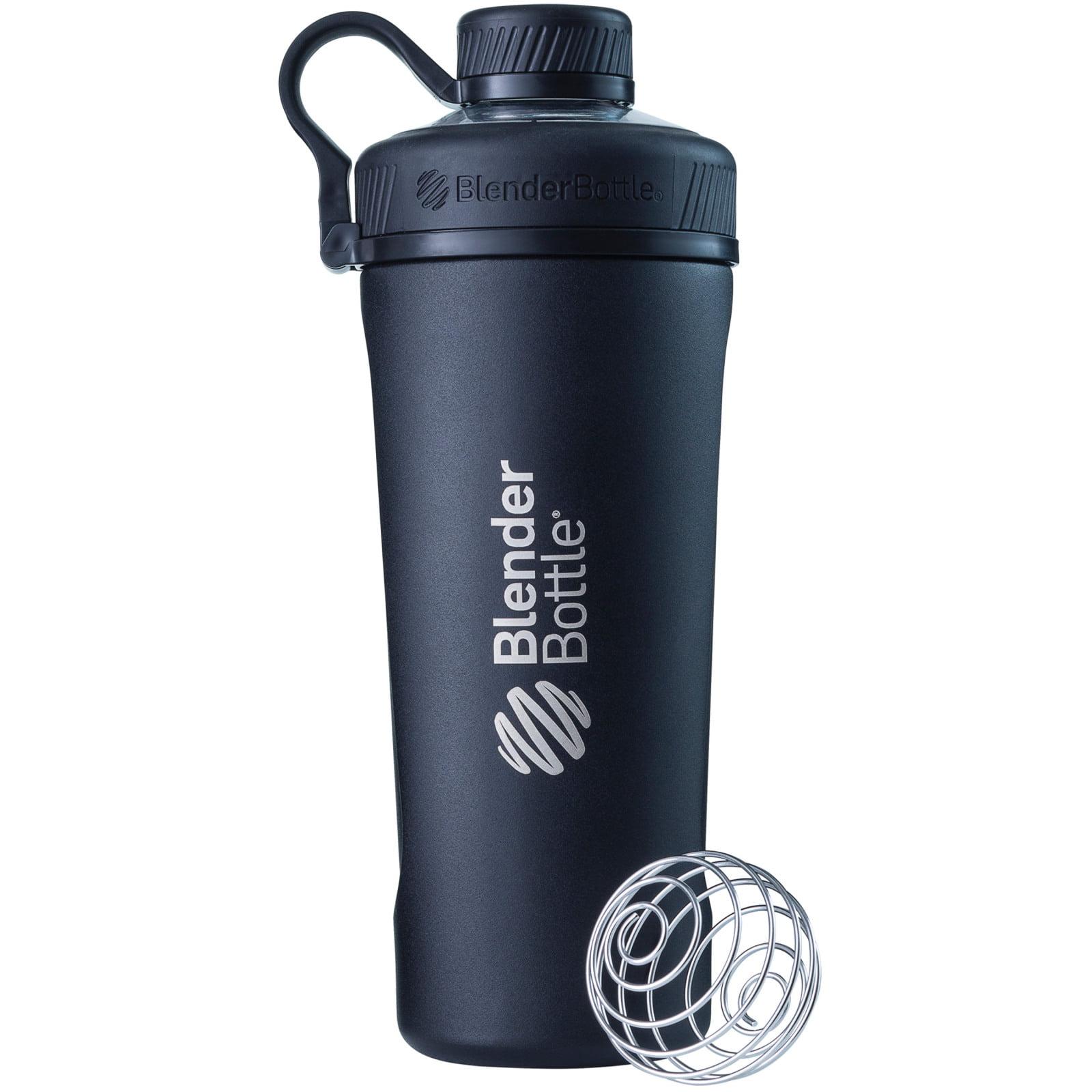 BlenderBottle 26oz Radian Insulated Stainless Steel Water Bottle White