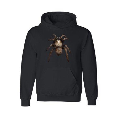 3D Spider - Tarantula Animals Unisex Hoodie Venom Black -