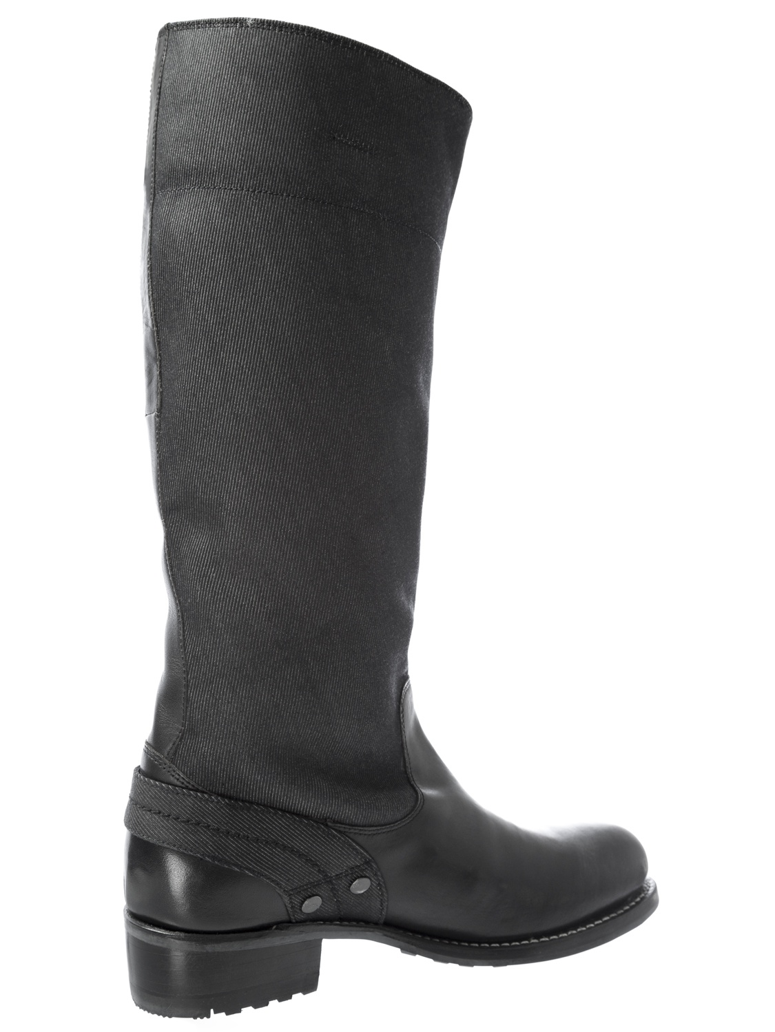 G-STAR Raw Women/'s PATTON Cinch HI Black /& Denim Boots GS41561//40A NEW