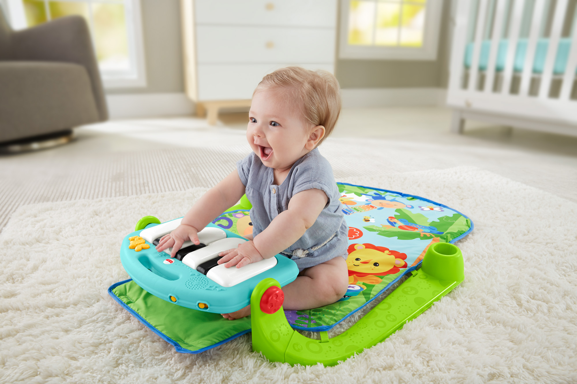 Fisher Price Kick & Play Piano Gym Walmart