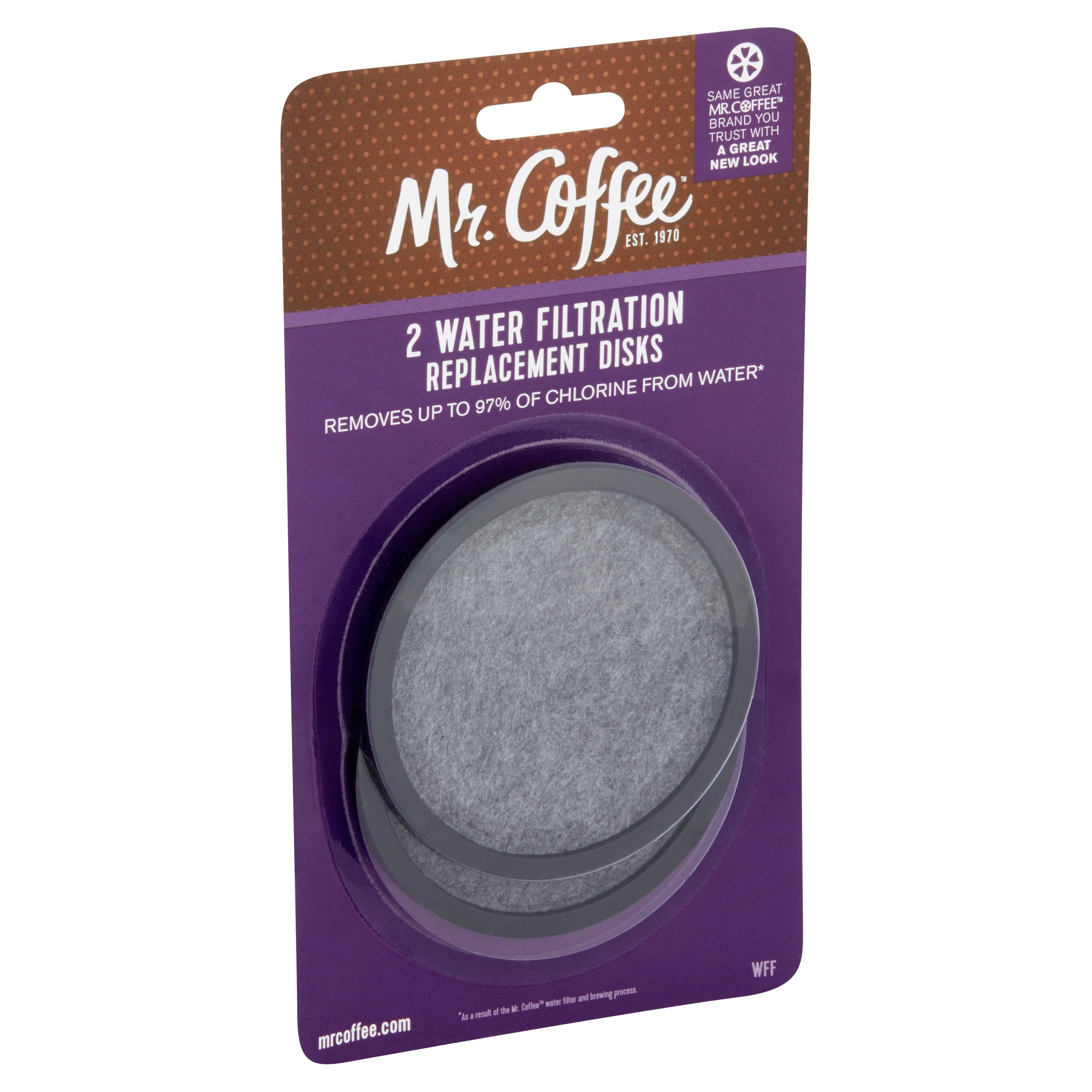 Water Filtration Disk For Coffee Maker