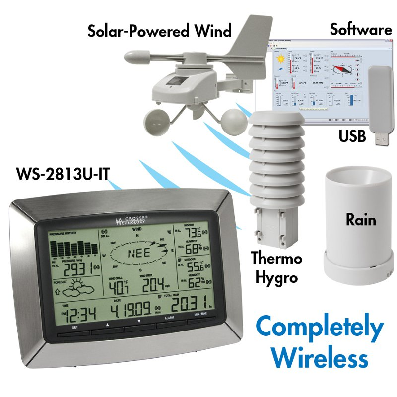 La Crosse Technology Professional Wireless Weather Station