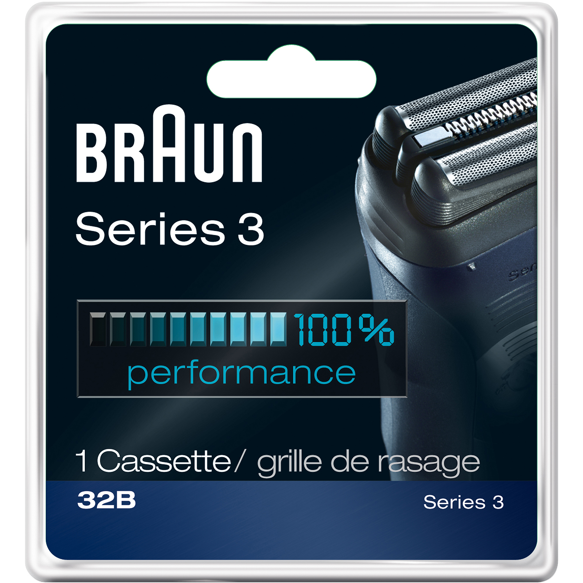 Braun 32B Cassette Shaver replacement Head