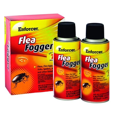 - 2-Pack Flea Fogger, With NYLAR, an insect growth regulator By Enforcer