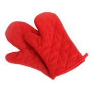 1Pair Oven Mitts Oven Gloves Oven Pot Holder Baking Cooking Heat Resistant Kitchen Barbecue