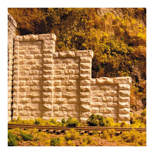 *TOP HO Cut Stone Step Tunnel Abut( Multi-Colored