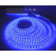 1M 5050 LED Flexible Tape Rope Strip Light Xmas Outdoor Waterproof