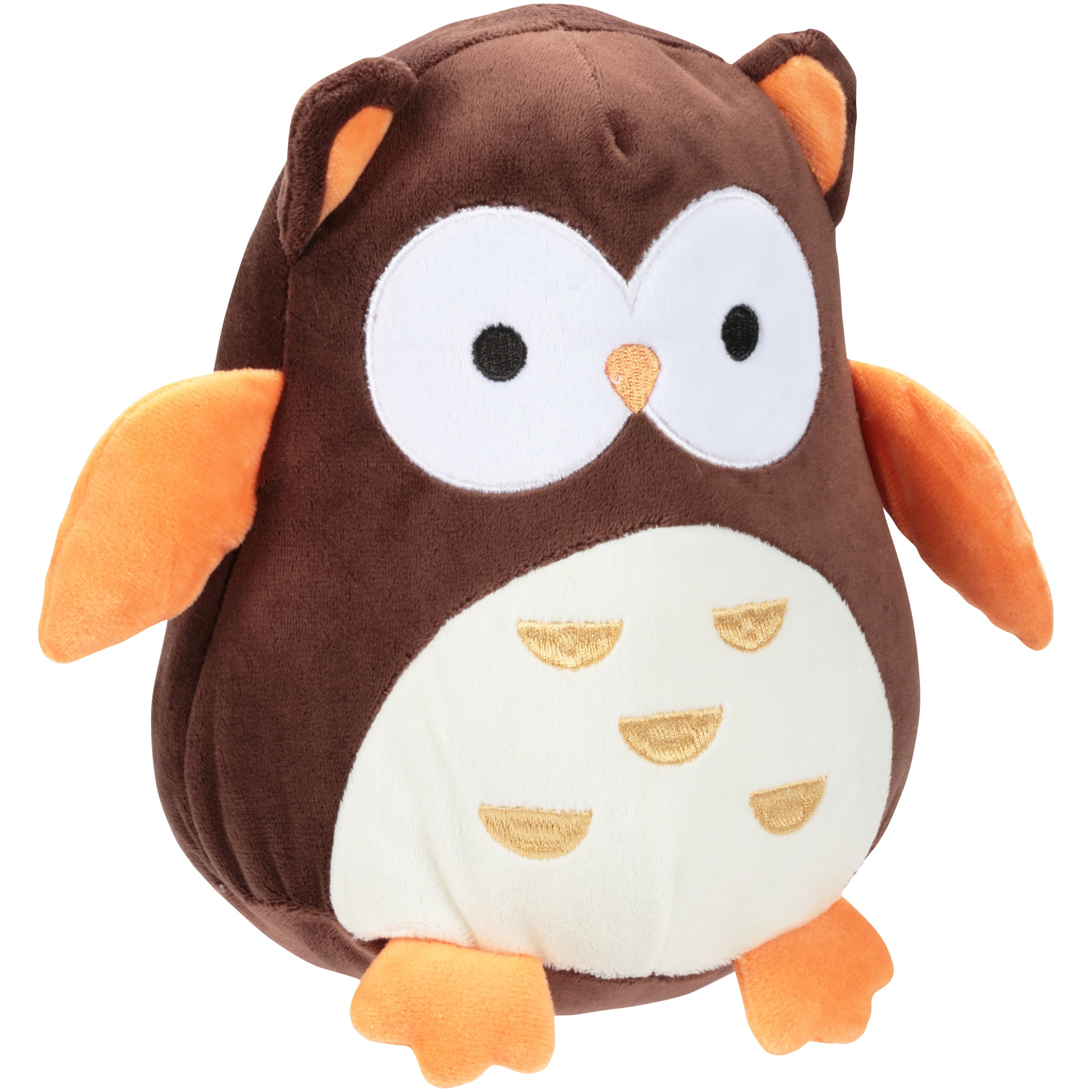 "Brown Bedtime Originals Friendly Forest Plush Owl 8/"" Percy Animals White"