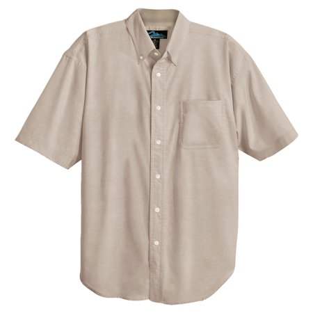Tri-Mountain Men's Big And Tall Stain Resistant Dress