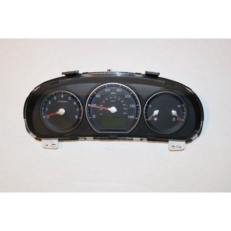 10 2010 Hyundai Santa Fe 2.4L AT Instrument Cluster Speedometer 64,846 (2010 Hyundai Santa Fe 4 Cylinder Towing Capacity)