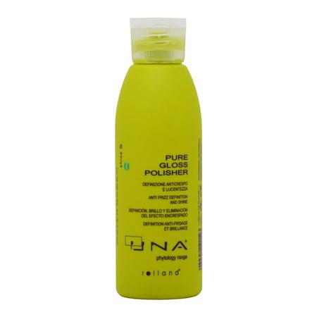 UNA Pure Gloss Polisher 5.28 fl. oz. /150 ml Anti Frizz Definition and Shine