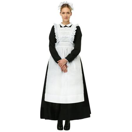 Womens Traditional Maid Plus Size Costume - image 2 de 2
