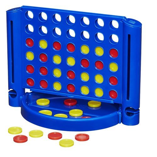 Connect 4 Grab and Go Game by By Hasbro by