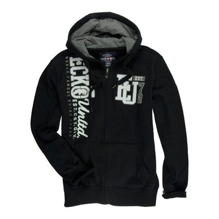 Ecko Unltd. Mens Vertical Eu 72 Full Zip Hoodie Sweatshirt