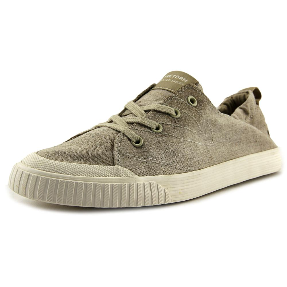 Click here to buy Tretorn MEG Men Canvas Nude Fashion Sneakers by Tretorn.
