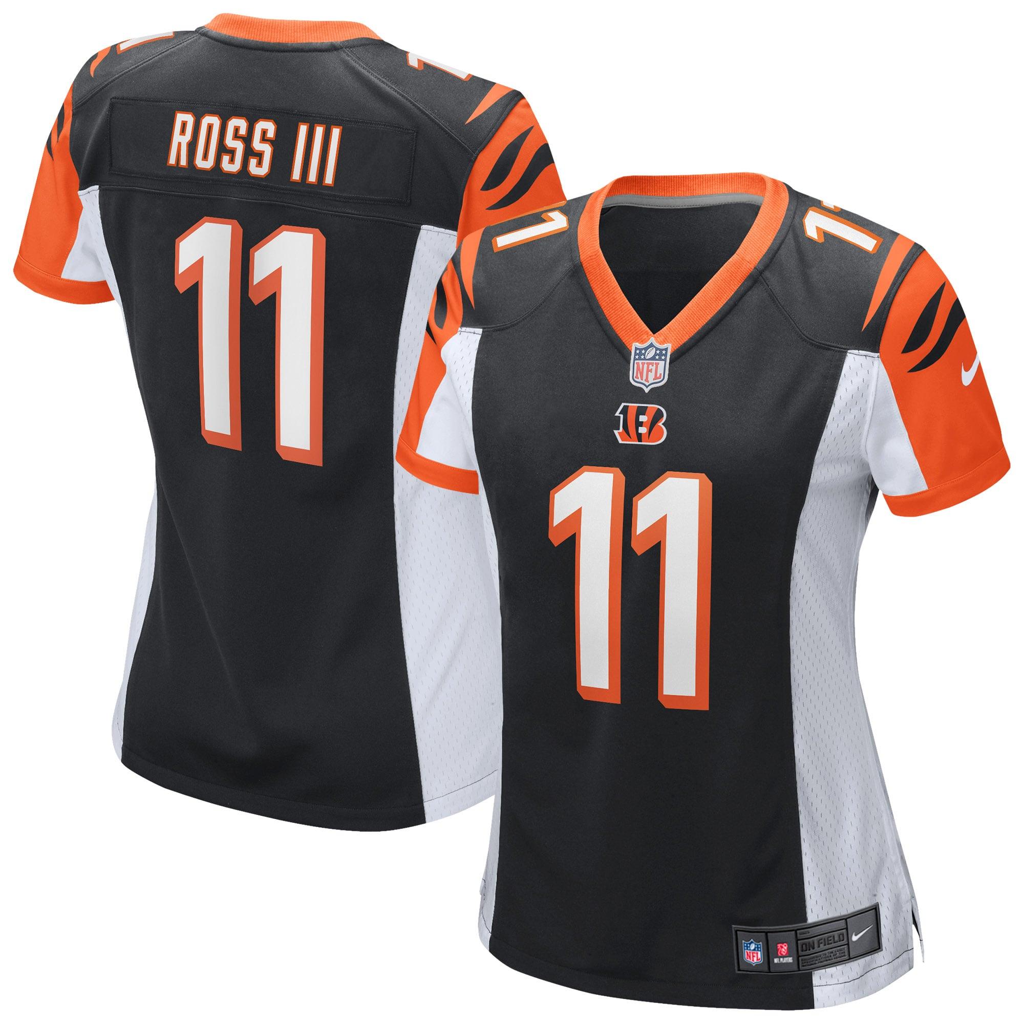 John Ross III Cincinnati Bengals Nike Women's Game Jersey - Black - Walmart.com