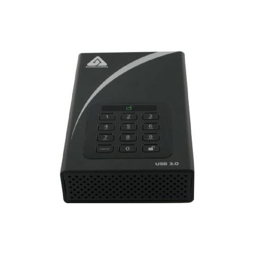 Apricorn Aegis Padlock DT ADT-3PL256-4000 4 TB External Hard Drive - Desktop