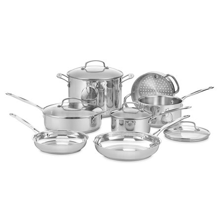 Cuisinart Chef's Classic Stainless Steel Cookware Set
