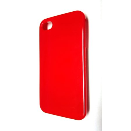 Radioshack Apple Iphone 4S Snap On Cell Phone Case   Red