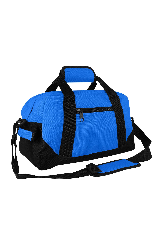 Gym Royal - small 14 x 8.5 x 8.5 Travel Bag Two Tone iEquip Duffle Bag