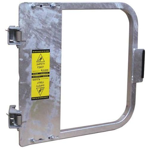 PS DOORS LSG-15-GAL Safety Gate, 13-3/4 to 17-1/2 In, Steel