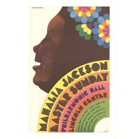 MILTON GLASER Mahalia Jackson 41.75