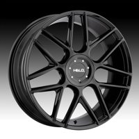 Helo HE912 Gloss Black 17x7.5 5x110 / 5x115 38mm (HE91277521338)