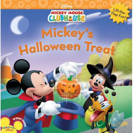 Mickey's Halloween Treat (Paperback) - Halloween Books For Kindergarteners