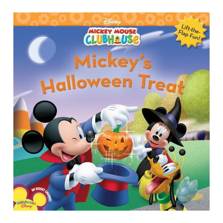 Mickey's Halloween Treat (Paperback)](Printable Halloween Book Jackets)
