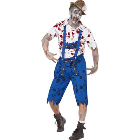 Zombie Beer Bavarian Adult Costume (Zombie Adult)