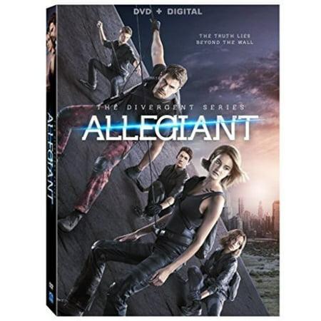 The Divergent Series: Allegiant (DVD) (Digital Download Divergent)