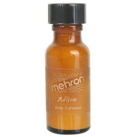 Mehron Makeup AdGem Latex-Free Body Adhesive 0.5oz (Adhesive Makeup)