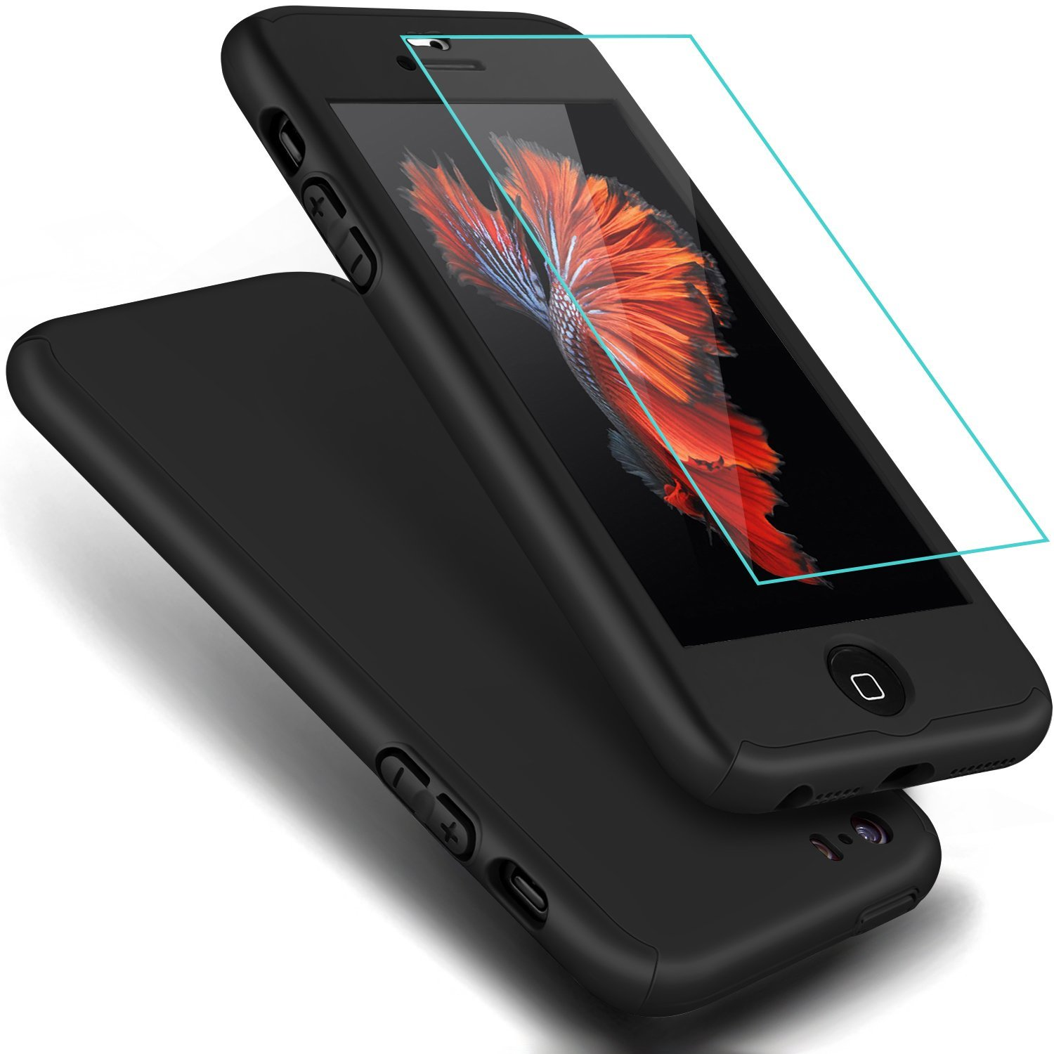 online store f4afe 4ebec iPhone SE Case, ® Full Body Coverage Ultra-thin Hard Hybrid Plastic ...