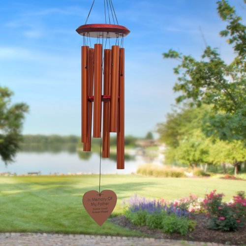 Chimes of Your Life - Father - Heart - Memorial Wind Chime