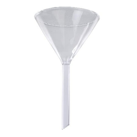 Short Stemmed Glass Funnel, 2.95 In. Id