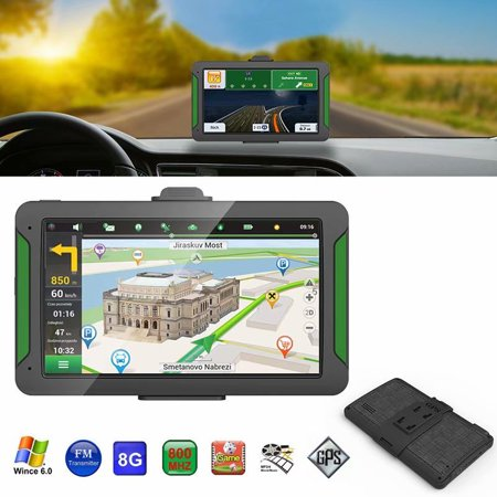 "VicTsing 7"" Android Car GPS Navigator GPS Navigation System HD Press Screen Running Memory Driving Navigation North-America Map"