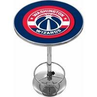 "Trademark NBA Washington Wizards 42"" Pub Table, Chrome"