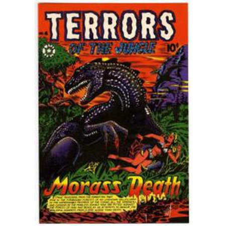 Terrors of the Jungle Six Issue Jumbo Comic - - Halloween 30 Years Of Terror Comic Book