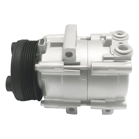 RYC Remanufactured AC Compressor and A/C Clutch EG129 Fits 1994, 1995, 1996, 1997, 1998, 1999, 2000, 2001, and 2002 Ford Crown Victoria 4.6L