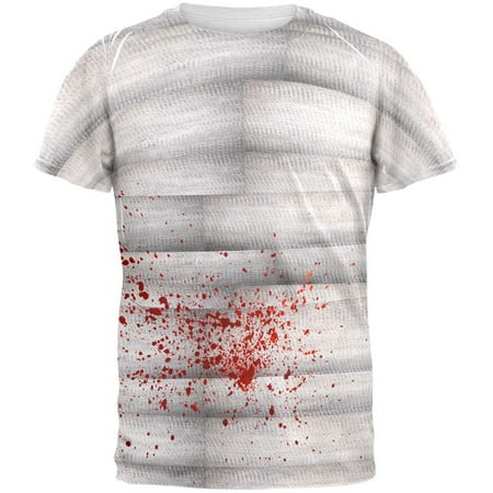 Halloween Bloody Mummy All Over Adult T-Shirt