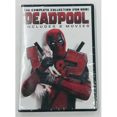 Twentieth Century Fx Deadpool 1 + 2 Double Feature Dvd Std Ws