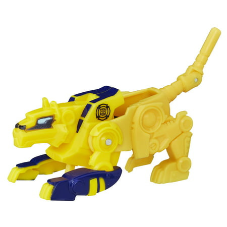 Bolt Bumble Bee - Playskool Transformers Rescue Bots 2PK Fireplug Swift Cheetah-Bot Figures