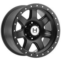 "17"" Inch Hostile H112 Podium 17x9 6x135 +0mm Satin Black Wheel Rim"
