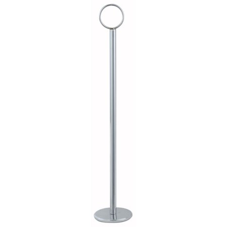 Knot Table Number Holders (Winco Stainless Steel Table Number Holder, 12