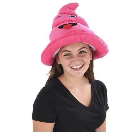 Fake Emoji Poop Hat - Pink