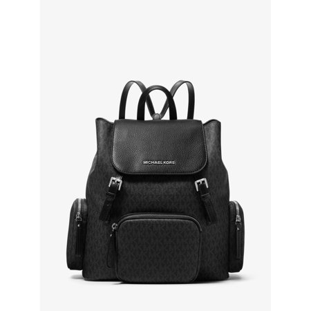 48725ee8abe7 Michael Kors - Michael Kors Abbey Large Logo Cargo Backpack in Black -  Walmart.com